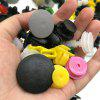 CZLS-011 Universal Plastic Rivet 200pcs - COLORFUL - MULTI