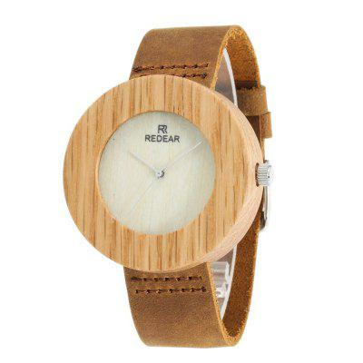 Simple Design Wooden Wristwatch Maple Wood Quartz Watch for Women