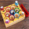 Puzzle Box Game Bambini Catch Bee Maschile Cognitive Color Toy 1 - MULTI COLORI-A