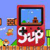 Sup X Game Box 400 in 1 Nostalgic Handheld Game Console - RED