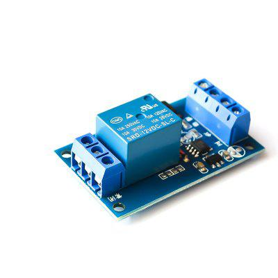 12V Single-Key Bistable Relay Module Auto Modification Switch One Key Start-Stop