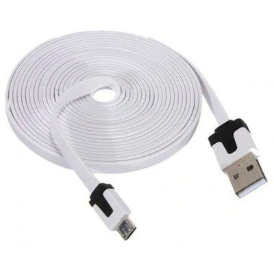 3M Noodle styl Micro USB nabíječka Sync Data Cable Cord pro Android