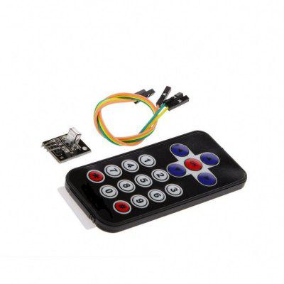 Infrared IR Wireless Remote Control Sensor Module Kits for Arduino