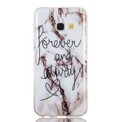 Candy Color Marble Soft TPU Phone Case for Samsung Galaxy A3 2017