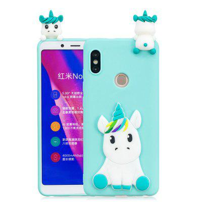 TPU Case for Xiaomi Redmi Note 5 Pro Cover Cute 3D Soft Unicorn Patch