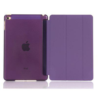 para iPad mini 4 Smart Cover Stand con TPU flexible flexible
