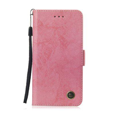 Leather Case for Samsung A 8 2018