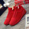 Men Breathable Simple Casual Sports Shoes - RED