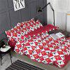 OMONNES Domestica Aloe Vera Cotton Quilt Set Single Rome Holiday - VINO ROSSO