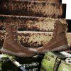 Men Shoes Fashion Soft and Comfortable Lace Up Breathable - BROWN