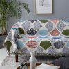 Ginkgo Leaf Pattern Koc Europejski Styl Sofa Slipcover Travel Koc - MULTI-A