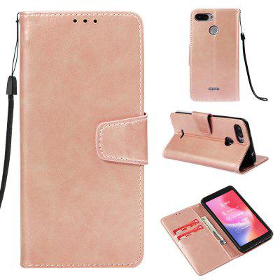 Leather Flip Case For Xiaomi Redmi 6 Card Slot Wallet Cover For Xiaomi Redmi 6A
