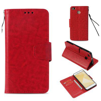 Flip Leather Wallet Case For Xiaomi Redmi Note 4X Phone Cover With Card Holder
