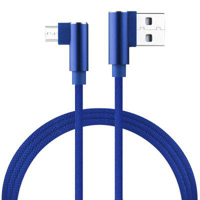 High Quality L Bending for Android USB Cables Fast Charging 2A Charging Line