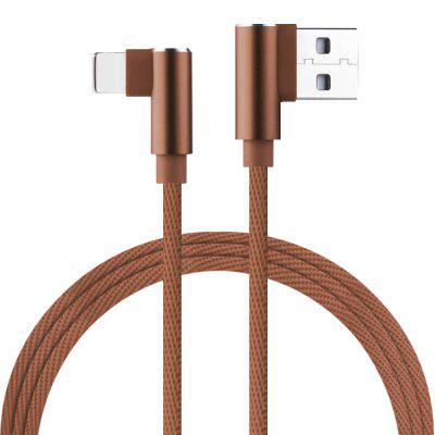 High Quality L Bending for 8 Pin USB Cables Fast Charging 2A Charging Line-1M