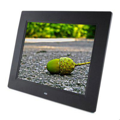 8 inch Digital photo frame supply playback video music picture with USB SD play