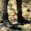 Men'S High-Top British Style Non-Slip Wear-Resistant Tool Motorcycle Boots - BLACK