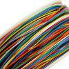 250M 8-WIRE Colored Insulated P/N B-30-1000 30AWG Wire Wrapping Cable Wrap - MULTI