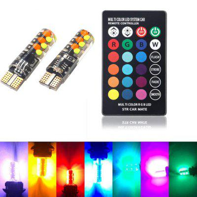 BRELONG RGB-autoluwheid Lamp 18LED T10