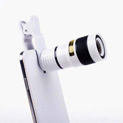 Achtvoudig zoomeffect High-Definition-lens 8 keer Universele mobiele telefoon