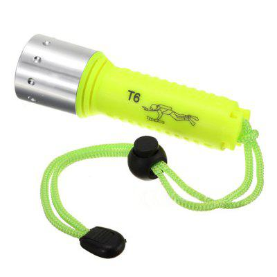 800 Lumens LED Rechargeable Diving Flashlight