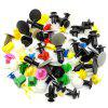 Universal Car Trim Panel Expansion Screw Fastener Rivet Clips 500pcs - COLORMIX - MULTI