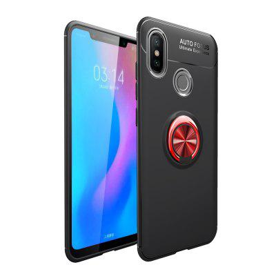Fashion Ring Stand Slim Armour Shockproof Case Cover for Xiaomi 8