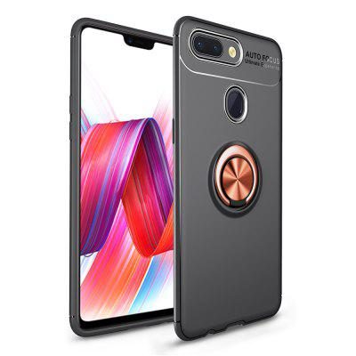 Fashion Ring Stand Slim Armour Shockproof Case Cover for Xiaomi 8 Lite