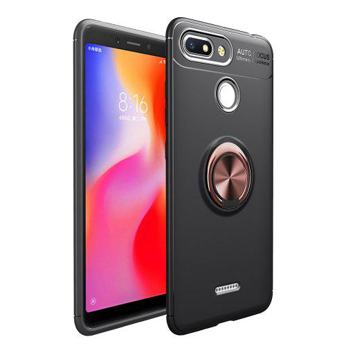 new styles 26bd0 fa2e2 Fashion Ring Stand Slim Armour Shockproof Case Cover for Xiaomi Redmi 6