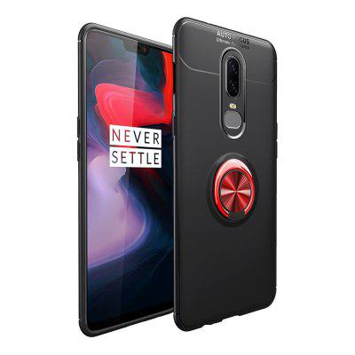 Fashion Ring Stand Slim Armour Shockproof Case Cover for OnePlus 6