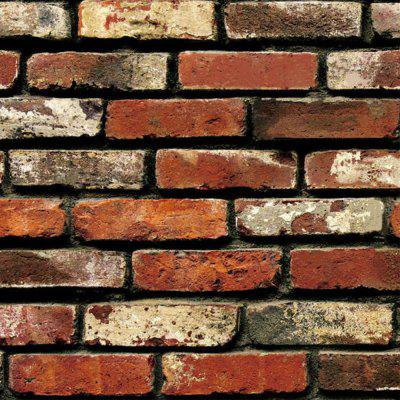 Simulation Lithographic Brick Decorative Wallpaper Stickers