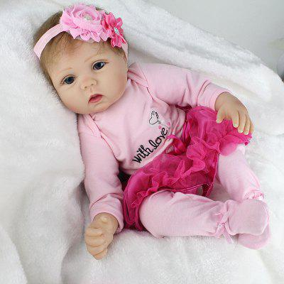 22inch-Full-Body-Reborn-baby-poppen-Newborn-Doll-Silicone-Vinyl-Lovely-Girl-Gift