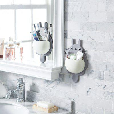 Cute Totoro Wall-Mounted Toothbrush Holder