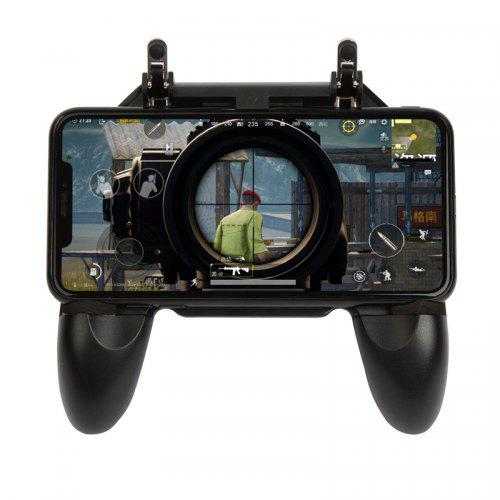 W10 Mobile Phone Game Controller Gamepad Joystick Fire Trigger for PUBG Fortnite