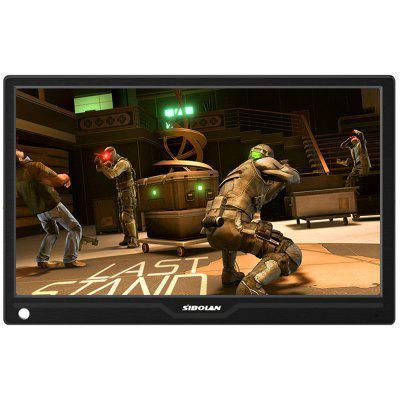 SIBOLAN S12 13.3 inch 1080p HDR Portable Monitor with HD Input Build in Speakers