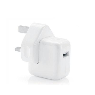 USB Charging Head 2.4A British Standard Travel Charger for IPad Tablet