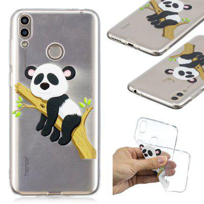 For Huawei Glory 8C High-Transmittance Painting TPU Cover