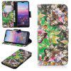 For Huawei P20 3D Painted Leather Cover - MULTI-D