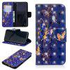 For Samsung S9 3D Painted Leather Case - MULTI-A