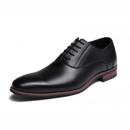new Fashion Sapato Masculino Mens Casual Shoes Men Leather Oxford Lace Up