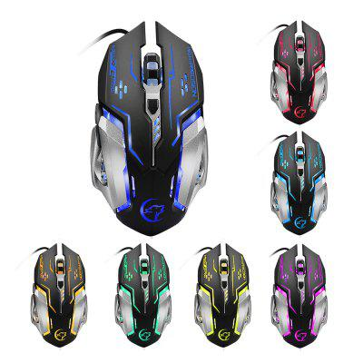 YWYT G815 Cable game mouse can turn off colorful lighting USB game optoelectroni