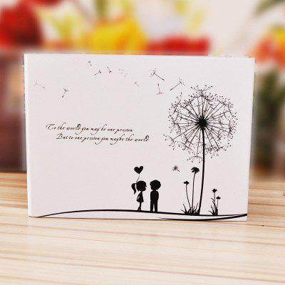 YEDUO Dandelion couples 10inch Photo Album diy Wedding Photos Memory Record