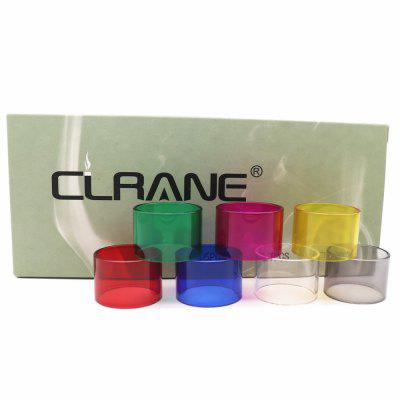 7PCS Original CLRANE Replacement Glass Tank for Wotofo Serpent Mini 25