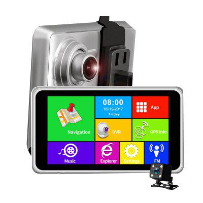 5 Inch 3G FHD1080P Android App Navigation Support Car Camera Image