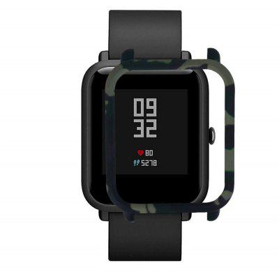 Watch Camouflage Design Protective Case Cover for Xiaomi Amazfit Bip Youth