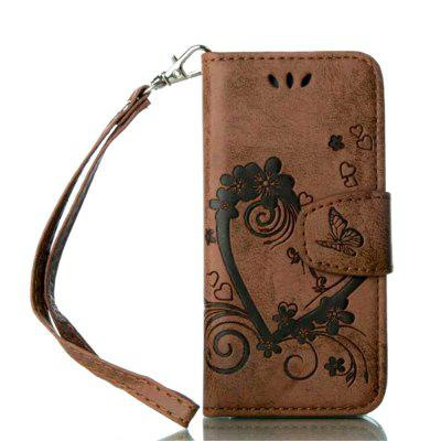 Coque For iPod Touch 5 / Touch 6 Luxury PU Leather Stand Wallet Flip Cover Case