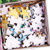 63Pcs Jigsaw Puzzle Color Block 3D Print Peacock Pattern Puzzle - MULTI