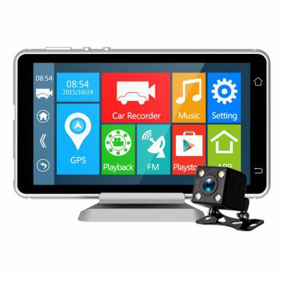 A38 FHD 1080P 5.0 Inch support WIFI and PIP Car Dvr Image