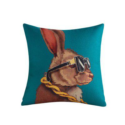Lovely Animals Dogs Cats Pattern Sofa Comfortable Cushion Cover Pillow Case