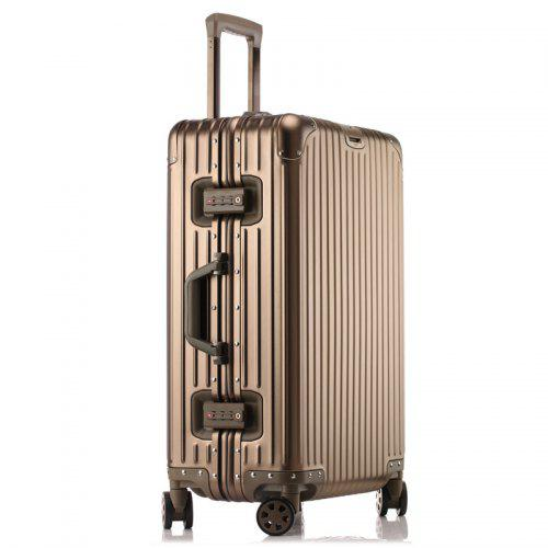 Diamond All Aluminum Magnesium Alloy Suitcase